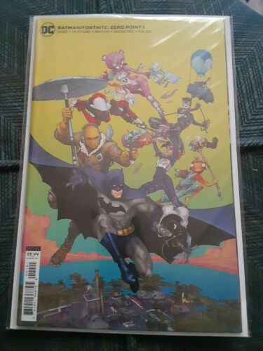 Batman Fortnite Zero Point #1 Sealed  With Code Variant Cover