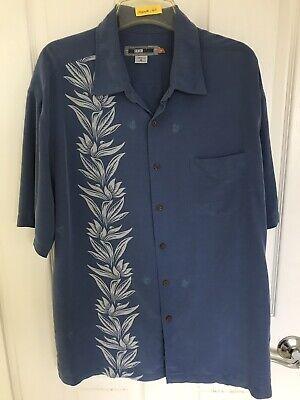 Quiksilver Edition Comfort Fit Men's Size X-Large Button Front Hawaiian Shirt
