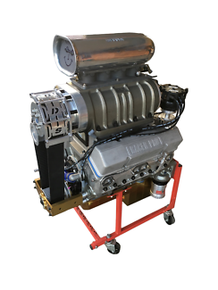 350 Chevy Super Charged Motor