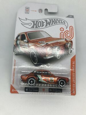 Hot Wheels ID 2020 Chase `70 Ford Escort RS1600 In protector