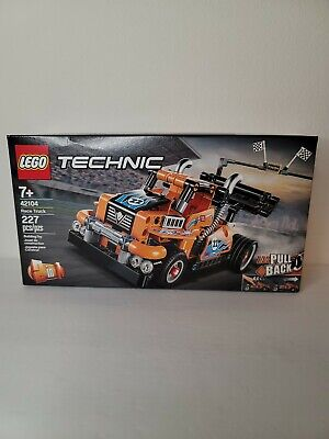 LEGO Race Truck Technic 2 in 1 (42104) New Factory Sealed Box. Retired