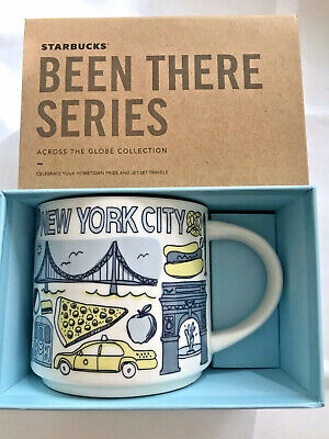 Starbucks Coffee Been There Series Mug NEW YORK CITY Cup 14 oz NIB & w/SKU