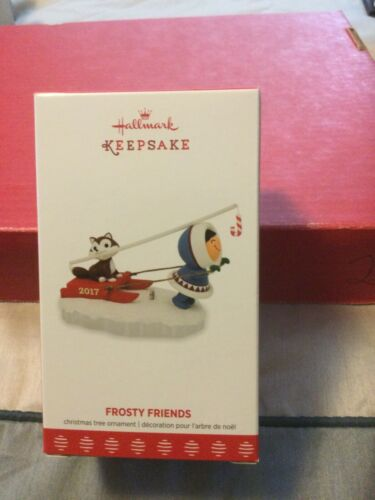 2017 Hallmark Frosty Friends 38th in series MIB