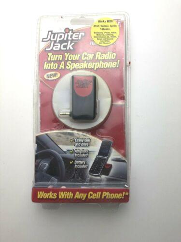TeleBrands Jupiter Jack Turns a Car Radio into A speakerphone W/ 6 Adapters  -14