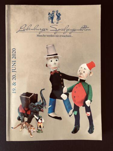 Auktionskatalog Ladenburger Spielzeugauktion 19.20.6.2020 alte Puppen Eisenbahn