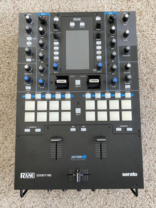 Rane SEVENTY-TWO 2 Channel Performance DJ Mixer Rane 72