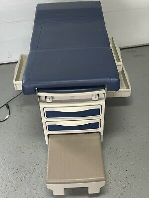 Midmark Ritter 204 Navy Blue Upholstery Exam Table
