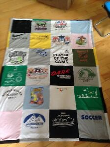 Tshirt quilts / memory blankets