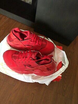 Size 5.5Y Boys Red Nike Huarache