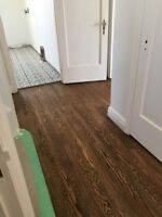 REFINISHING AND INSTALL OF HARDWOOD FLOORS