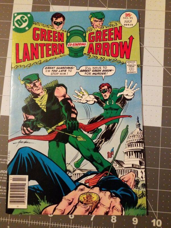 Green Lantern 95 Dc Comics 1977