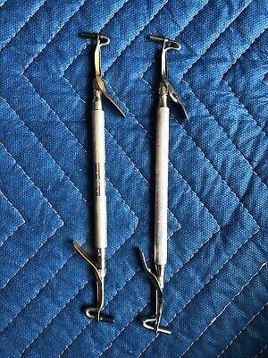 Lot Of 2 Used Dental Amalgam Carriers- Various Models B.d.m. Hu-friedy