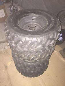All terrain golf cart /atv tires- new (4x100)