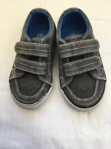 Grey size 7 toddler shoes