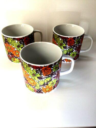 3 Holt Howard 1967 Vintage Coffee Mugs #7971