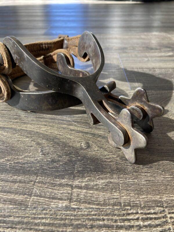 Antique Vintage Iron Spurs