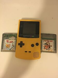 Game boy color with 2 games Botany Botany Bay Area Preview