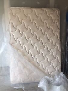 Two double mattresses