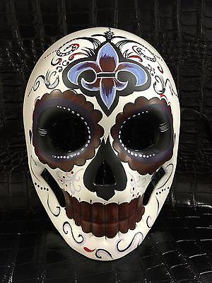 Day of the Dead Dias De Muerto Mask women's Mask Halloween Party Mask`