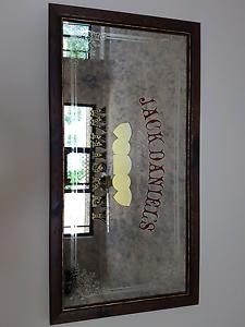 Jack Daniels  Bar mirror Duncraig Joondalup Area Preview