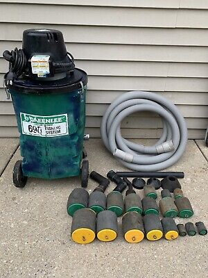 Greenlee 690 Fishing System For Wire Cable Tugger Nice Set