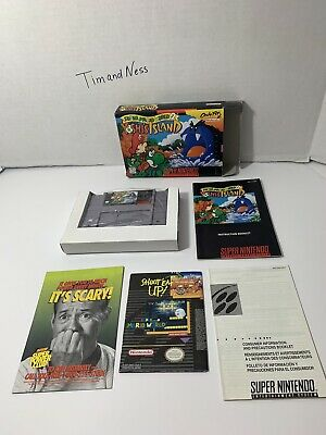 Super Mario World 2: Yoshi's Island Authentic Super Nintendo SNES Complete CIB