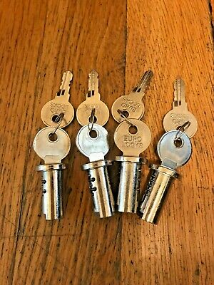 Lot Of 4 New Lock Keys Vending Northwestern Oak Komet Eagle Gumball Machine