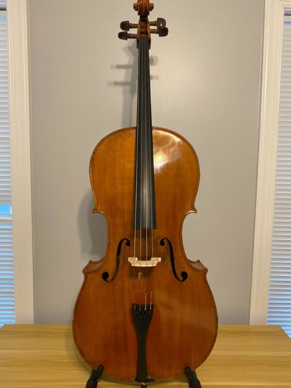 Fine German Cello by Erich Heinel, c. 1929