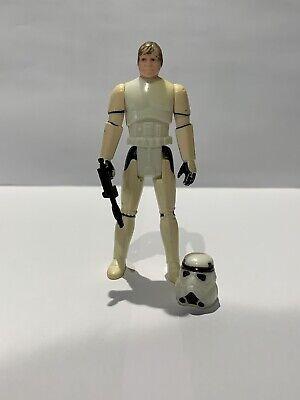 Vintage Star Wars 1984 Last 17 Luke Stormtrooper with Repo Helmet & Weapon