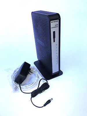 NETGEAR CG3000Dv2 N450 Docsis 3.0 Cable Modem WiFi Router CABLEVISIO CHARTER WOW