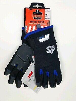 Ergodyne 3m Work Gloves 817 Medium Thinsulate Thermal Insulated Winter Cold New