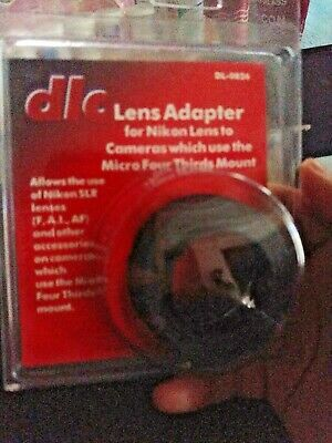 DLC Lens Adapter DL-0826 Nikon F lenses on MFT mount