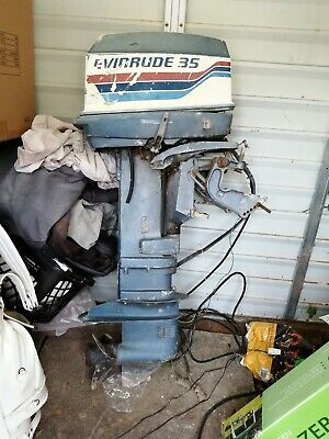 Evinrude Outboard Engine 35hp