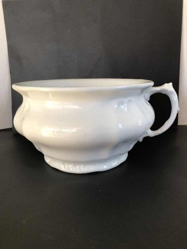 Antique Royal Ironstone China, Johnson Bros. England, Chamber Pot