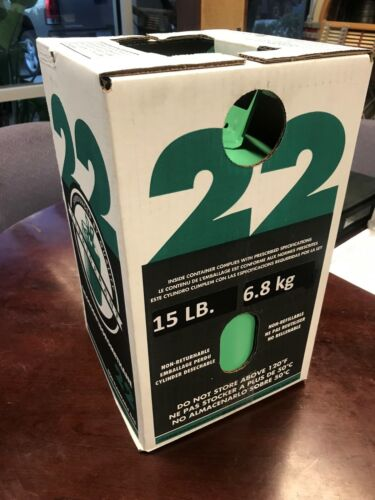 R-22 Refrigerant 15lb, USA, New Sealed Bottle LOCAL (Mesa AZ) PICKUP ONLY