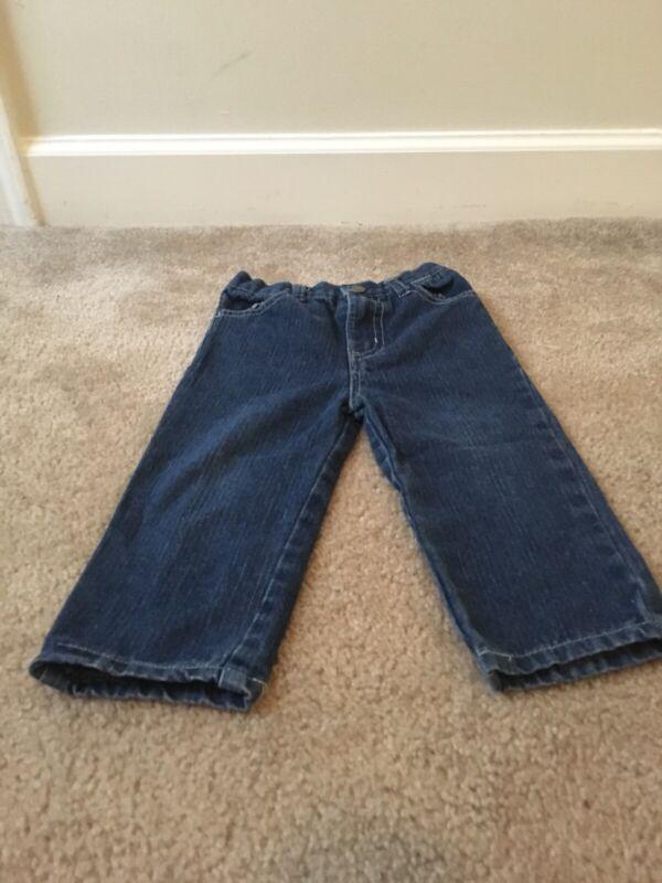 US POLO ASSN Baby Toddler Kids Blue Denim Jeans Pants Sz 24M Clothes