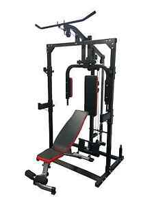 Power Rack Home Gym with free extras Wooloowin Brisbane North East Preview