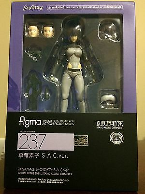 Figma 237 Motoko Kusanagi S.A.C. Ver Ghost In The Shell