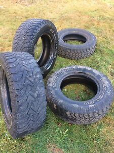 "Tires for sale 17"" good year $100 for 4"