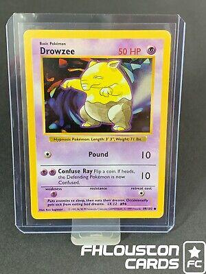 1st Edition 49//102 Vintage Pokemon FRENCH Base N//MINT Card SOPORIFIK DROWZEE