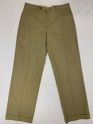 Men's Nautica Khaki Chino Pants Size  36x30 Beige EUC
