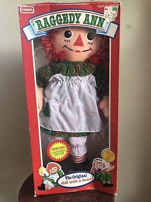 BNIB Vintage Raggedy Ann Special Christmas Edition Doll PLAYSKOOL ()
