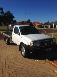 Nissan navara d22 tray back 4x4 ute Port Kennedy Rockingham Area Preview