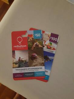 $150 redballoon vouchers