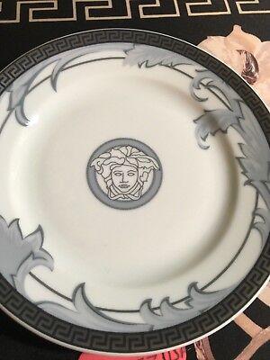 "VERSACE PLATE 7"" Medusa Rosenthal NEW Discontinued Rare  Sconti"