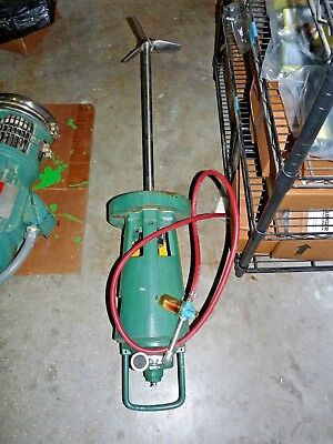 Gast 2am-ncc-40a Rotary Vane Air Motor W Mixing Shaft 23-34 L X 9 Diameter