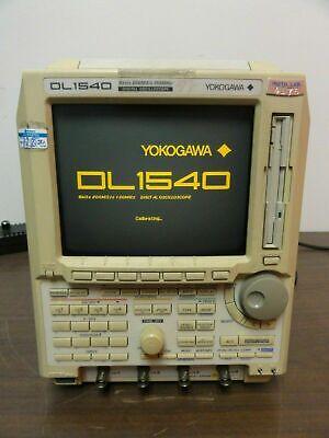 Yokogawa Dl1540 Digital Oscilloscope 8 Bits 200mss 150mhz Model 701510