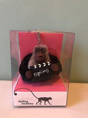 Kipling Monkey Key Chain DIRECTOR Movies RARE  NEW NIB✔️