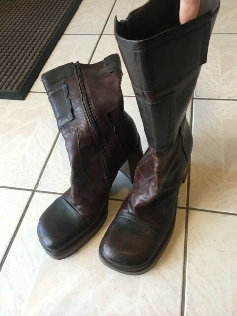 78710c7b299 Steve Madden size 9 brown mid calf boots