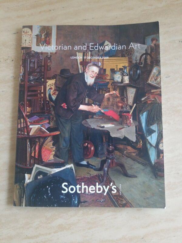 Victorian & Edwardian Art, 17 December 2009.,  Sotheby